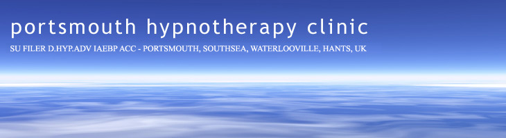 Portsmouth Hypnotherapy Clinic - Su Filer hypnotherapist Portsmouth hypnotherapy Portsmouth Waterlooville Southsea Hampshire, UK. Hypnotherapy for children, phobias and cancer care support in Portsmouth